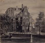 XXV-627-01 Huis van Spinola aan de Spaansekade hoek Nieuwehaven.