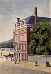 XXV-712 Gezicht op het huis Stadtwijck in de Westerstraat, op hoek met Westplein, uit het oosten.