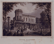 XXV-725 Villa Dijkzicht, de villa van Hoboken, aan de Westzeedijk 145.