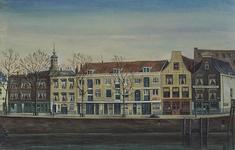 XXV-781-02 Huizen tussen de Herderinnestraat en de Eenhoornstraat aan de Zalmhaven, uit het westen.