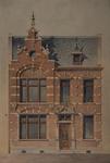 XXV-80-01-05 Huis, aan de Boezemstraat nummer 90, ontworpen en gebouwd voor schapenhandelaar De Vries.