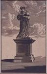 XXVI-3-01 Het beeld van Erasmus aan de Grotemarkt.