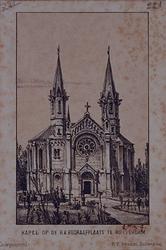 XXVII-12 De kapel op de RK Begraafplaats aan de Nieuwe Crooswijkseweg.