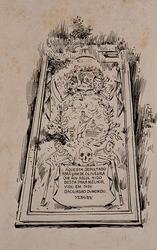 XXVII-13 Grafzerk van Abraham de Oliveijra op de Portugees Israëlitische begraafplaats.