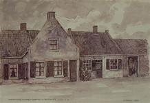 XXXI-1-06-00-01 Barendrecht - SmitshoekOude Smidse, wagenmakerij, smederij en hoefstallen, anno 1711, aan de Smitshoek ...