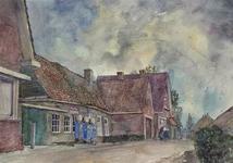 XXXI-1-06-05-2 Barendrecht - Smitshoek. Gezicht op de Oude Smidse bij Smitshoek. Gedeelte voor de benzinepompen is ...
