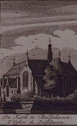 XXXI-103 Kerk aan het Achterwater in Delfshaven, 1570.