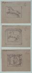 XXXI-124-01-8-TM-10 Gevelstenen van de Delfshavense huizen.-8 (boven): Wijk A, nr. 109.-9 (onder): Wijk A, nr. 111.-10 ...