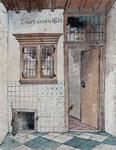XXXI-128 Interieur van een huis te Delfshaven.