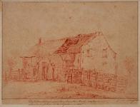 XXXI-131 De hut van het zoogenaamd Onzen lieven Heere Boertje in de kromte van Schoonderloo beoosten het Kerkhof ...