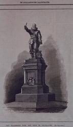 XXXI-133 Het standbeeld van Piet Heyn aan het Piet Heynsplein.