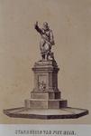 XXXI-135 Het standbeeld van Piet Heyn aan het Piet Heynsplein.