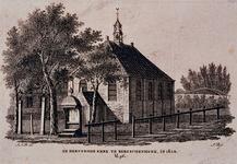 XXXI-14 De Hervormde kerk in Bergschenhoek.