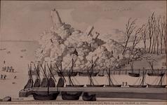 XXXI-140-01 2 januari 1565IJsberg op het westerhoofd te Delfshaven, veroorzaakt door kruiend rivierijs. Op het paneel ...