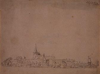 XXXI-148-05 Hillegersberg, gezien vanuit het oosten.