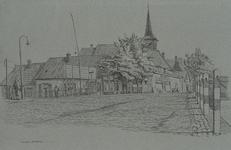 XXXI-174-00-02-02 Gezicht op de Bergse Linker Rottekade met de kerk aan de Rotte.
