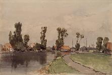 XXXI-178 Gezicht op de Rotte bij Hillegersberg.