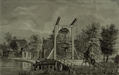 XXXI-189 De brug over de Rotte bij Terbregge.