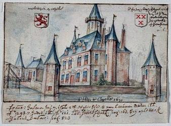 XXXI-26-00-00-02 t'Huijs te Cappelle 1671