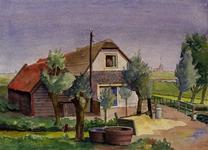 XXXI-268-13 Een huis aan de Poldervaart, gezien uit het zuidwesten.