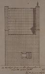 XXXI-28-1 De westelijke gevel van de gevangenis te Capelle aan den IJssel.