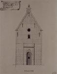 XXXI-28-3 Het gevangenis te Capelle op den IJssel, voorgevel..
