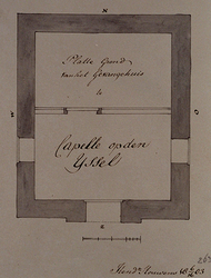 XXXI-28-4 De gevangenis te Capelle op den IJssel, plattegrond..