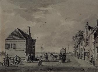 XXXI-309 Kralingseveer aan de Schaardijk.