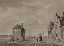 XXXI-310 Ysselmonde van 't veer te zien Kralingseveer aan de Schaardijk.(Gelijkenis met XXXI 309)