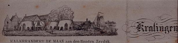 XXXI-322 Kalkbranderij aan de Nesserdijk uit het noorden.