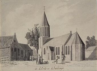 XXXI-325-01 De Nederlands Hervormde Kerk te Kralingen.