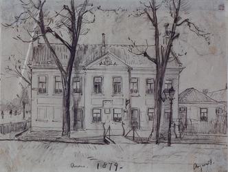 XXXI-334-01-02 Het Raadhuis te Kralingen.