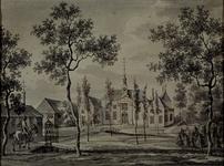 XXXI-338 Buitenplaats Nut en Vreugd, later genoemd Woudenstein, bij Rotterdam.