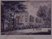 XXXI-341 Gezicht op de buitenplaats St. Ellebregt aan de Nesserdijk.