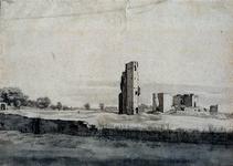 XXXI-366-01-06-17-00-03 Ruïne van de Burcht te Oostvoorne.