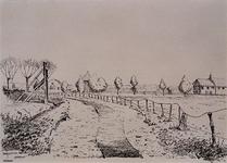 XXXI-406-03-01 De Rotterdamse Rijweg van de Hoornweg af.