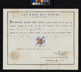 XXXI-51 Afbeelding van werkzaamheden rond een boerderij bij Charlois.Te zien zijn: een boerderij, drie mannen die ...