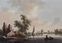 XXXI-531 't Dorp Pernis aan de Maas .