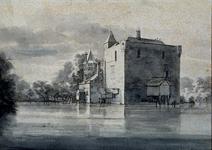 XXXI-540 Kasteel Valckesteyn te Poortugaal.