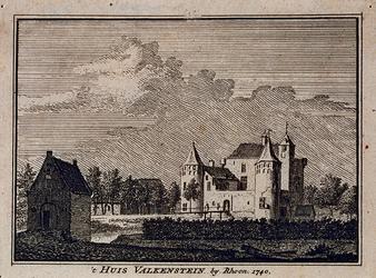 XXXI-542 Het slot Valkenstein te Poortugaal.