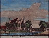 XXXI-557-4 Gezicht op het Huis te Rhoon, uit het noordwesten.