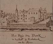 XXXI-592-03 Het Huis ten Donck in Ridderkerk.