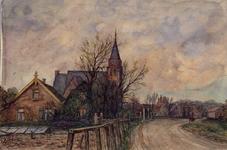 XXXI-597-152-01 De Nederlandse Hervormde Kerk aan de Molenweg. Te Rozenburg.