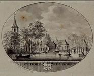 XXXI-598 Het dorp Rijsoord.