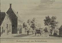 XXXI-600 Het Botterdorp te Schiebroek.