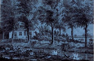 XXXI-608-01-00-01-1 Buitenplaats Veld- en Torenzigt aan de Kleiweg te Schiebroek.