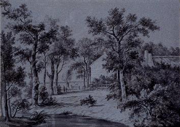 XXXI-608-01-00-01-2 Buitenverblijf Veld-en Torenzigt aan de Kleiweg te Schiebroek.