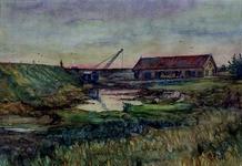 XXXI-608-03-41-1 Gezicht op het afgraven van de Welplaat.