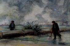 XXXI-608-03-44 Gezicht op de Welplaat bij de Botlekweg.