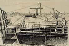 XXXI-608-05-02 Hartelsebrug en sluis bij Spijkenisse.